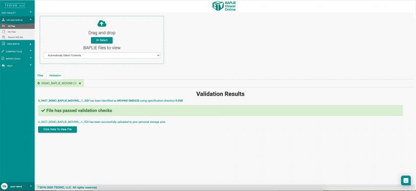 Upload-BAPLIE---MOVINS-file-Validation-Passed.png